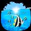 ícone animais aquáticos