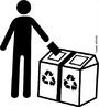 A embalagem é uma importante ferramenta de comunicação, que pode ser trabalhada como instrumento de Educação Ambiental. Por meio dos Símbolos de Reciclagem, o consumidor poderá identificar de maneira rápida e fácil que a embalagem é reciclável e que deve ser descartada seletivamente visando facilitar o seu encaminhamento para a indústria recicladora. <br /><br /> Palavras-chave: descarte seletivo, reciclagem, lixo.