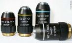 Objectivas permitem ampliar a imagem do objeto 10x, 40x, 50x, 90x ou 100x. <br /><br /> Palavras-chave: microscópio óptico, microscópio de luz, microscopia.