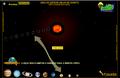 ícone para acesso ao jogo sistema solar